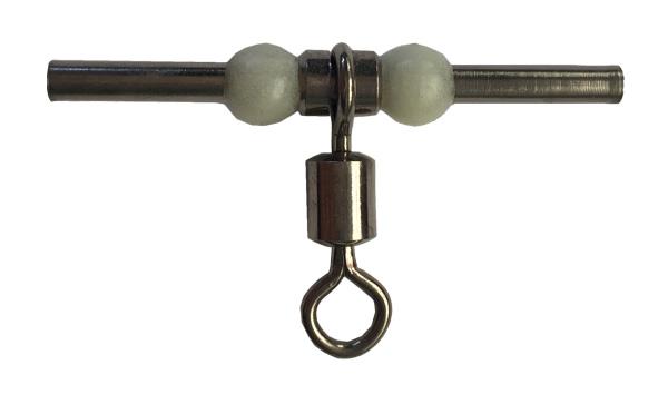 夜光珠铜头铜管分叉环