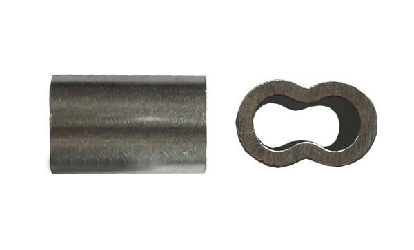 双管铝套钓具配件