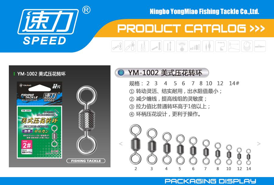 YM-1002-美式压花转环